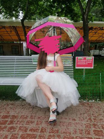 Выпускное платье в садик.