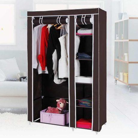 Шкаф тканевый складной каркасный STORAGE для одежды обуви 2 и 3 секции