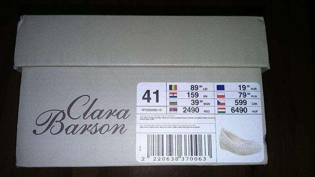 Półbuty damskie Clara Barson rozmiar 41