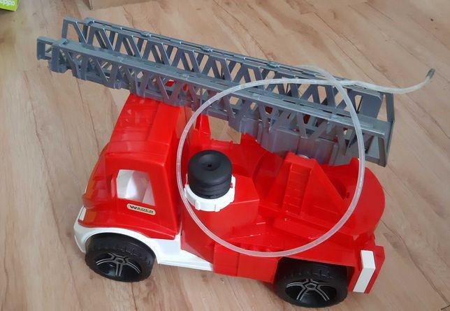 wader wóz strażacki śmieciarka klocki