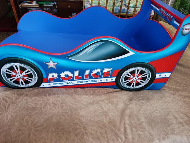 Кровать машина-полиция