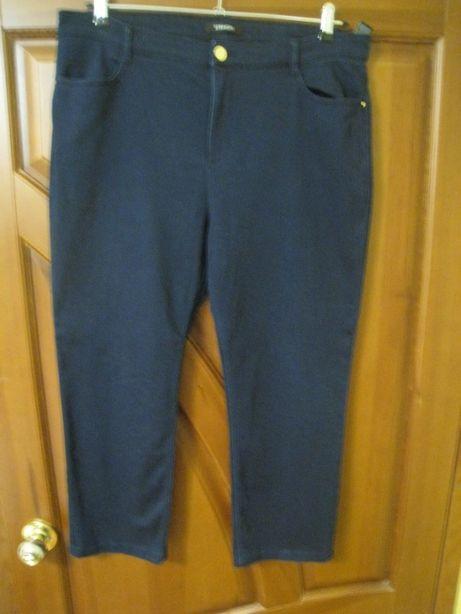 женские темно синие джинсы р.54- UK18