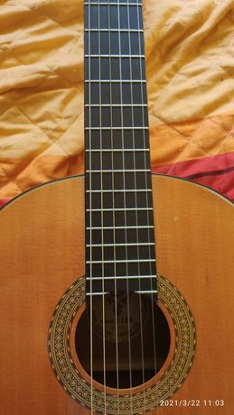 Kiso Suzuki.Jedyna ,45 letnia oryginalna japońska lutnicza  gitara 4/4