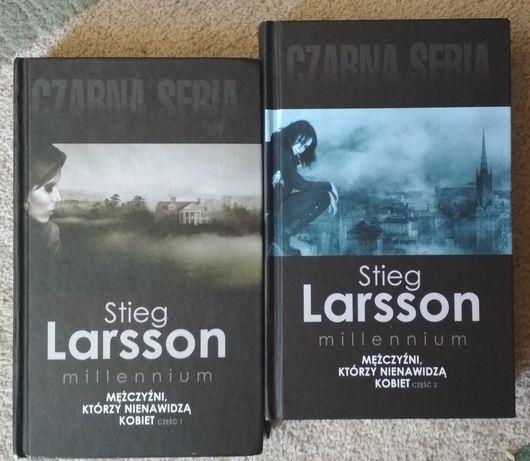 """Stieg Larsson """"Mężczyźni którzy nienawidzą kobiet"""" cz. 1 i 2"""
