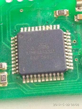 Atmega 8535L и NRF 905