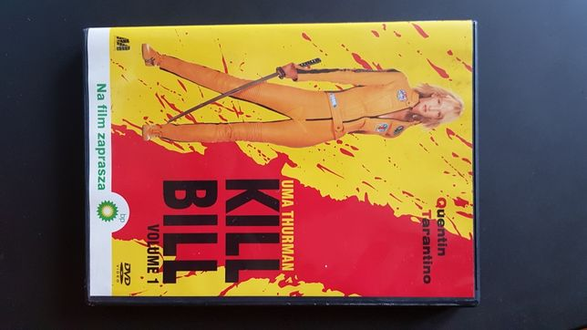 KILL BILL Quentina Tarantino DVD