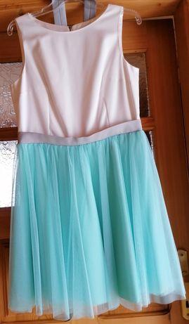 Sukienka z tiulem roz. 42