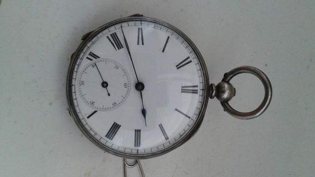Zegarek srebrny 1876r