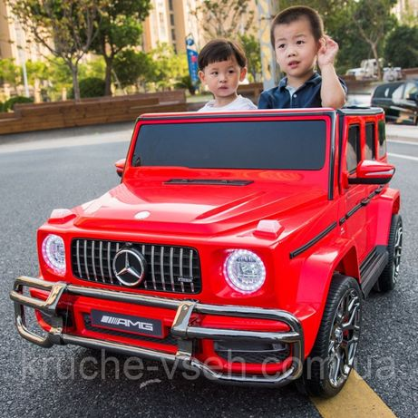 Джип MERCEDES AMG G63 M 4259, детский электромобиль, 2-х местный, 4х4