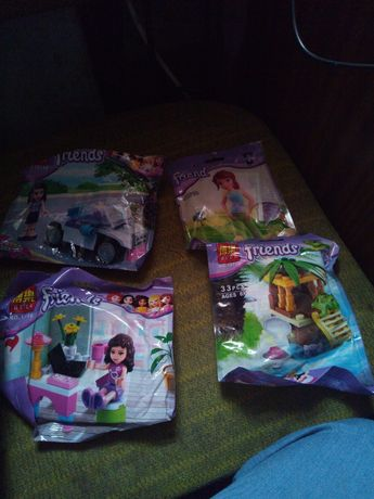 Лего для девочек набор 30 гр.,а если 4 ,100 гривен