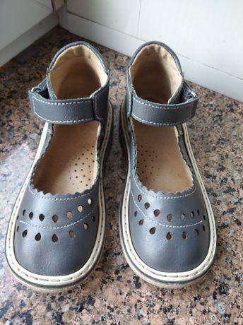 Шкіряні ретро туфлі сандалі Неман