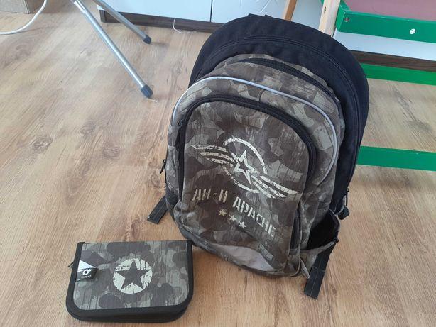 Plecak+piórnik Topgal