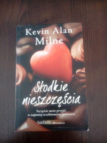 """Książka Kevin Alan Milne """"Słodkie nieszczęścia"""""""