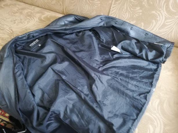 Пиджак кожаный мужской,куртка