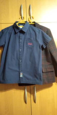 Комплект пиджак и рубашка
