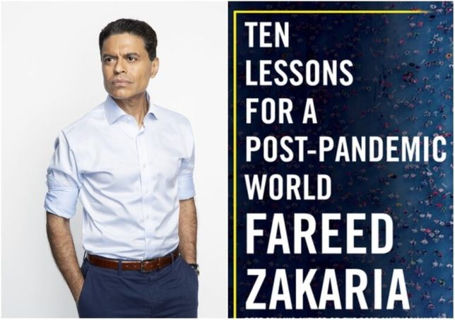 """Книга """"Ten Lessons For a Post-Pandemic World"""" by Fareed Zakaria"""
