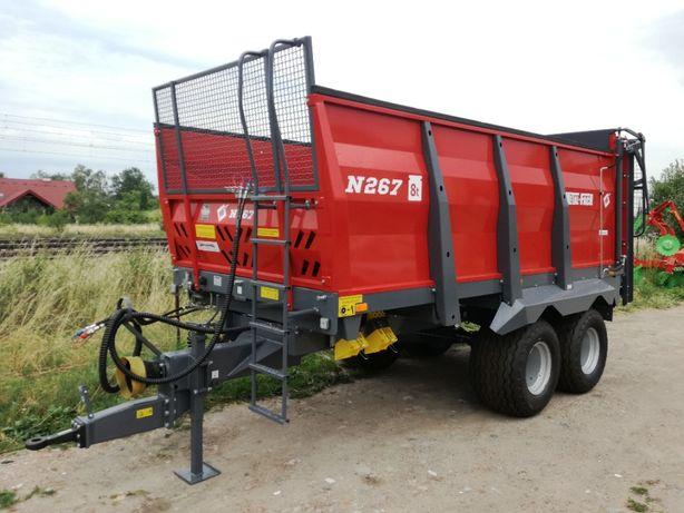 Od ręki!! Rozrzutnik obornika METAl-FACH N267 8 ton, 10 ton HORNET