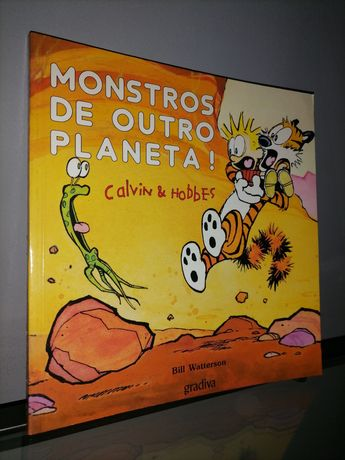 "Livro ""Calvin & Hobbes"""