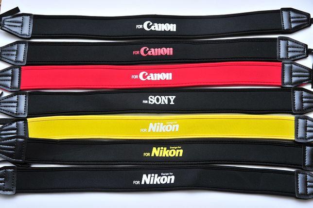 Нашейный ремень из неопрена ремешок для Nikon Canon Sony неопреновый