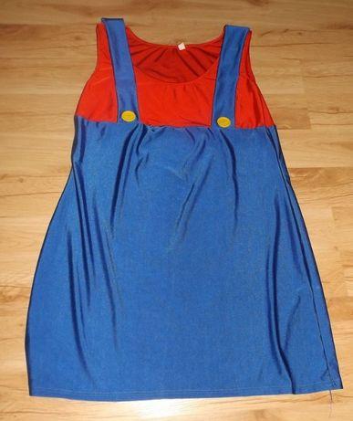 Sukienka klaun, clown, przebranie, kostium, strój XL