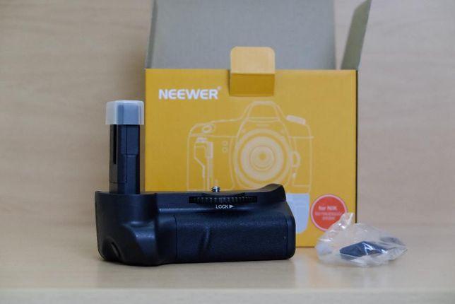 Punho / Grip Nikon D5100 D5200 D5300 D5500 D5600 e BATERIAS EN-EL14