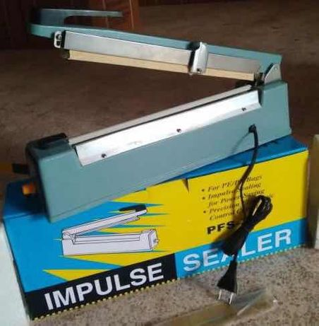 Запайщик пленки ручной PFS-300 алюминиевый корпус с ножом