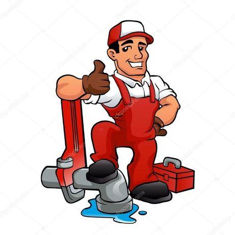 Hydraulik instalacje wodne i kanalizacyjne,przylacza,awarie.