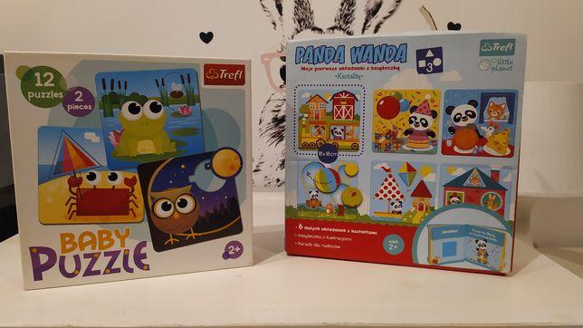 Układanki / puzzle czu czu, Panda Wanda