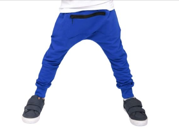 Spodnie z zamkiem chaber style kids