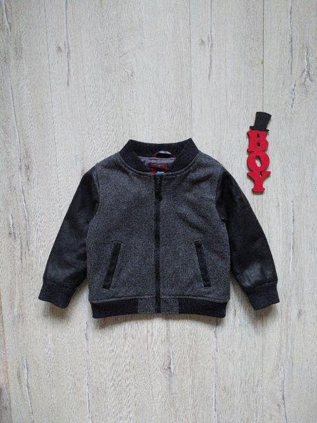 2-3 года, куртка-бомпер с шерстью gap.