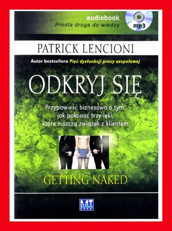 ODKRYJ SIĘ Patrick Lencioni audiobock