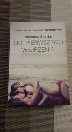 Nicholas Sparks książka OD PIERWSZEGO WEJRZENIA