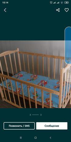 Продам детскую кроватку для новорожденных.