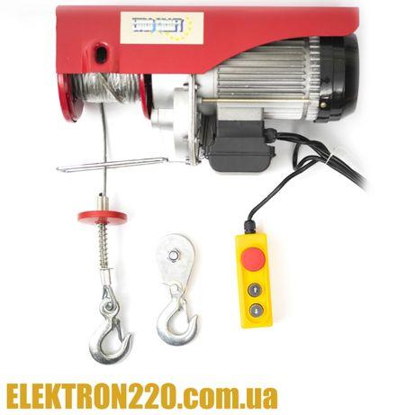 Лебедка, тельфер, электроталь Euro Craft HJ208 500/1000кг