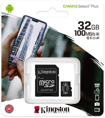 Карта памяти Kingston micro SDHC 32GB.