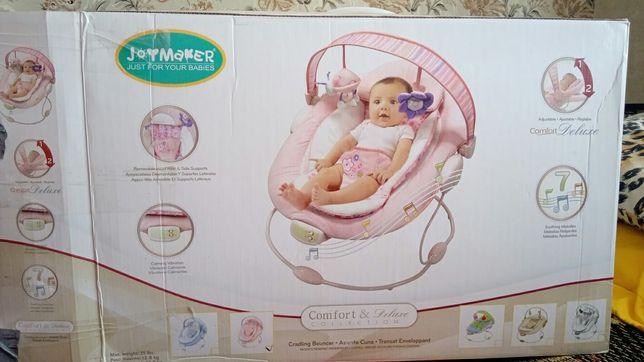 Дитячий шезлонг (крісло-гойдалка)