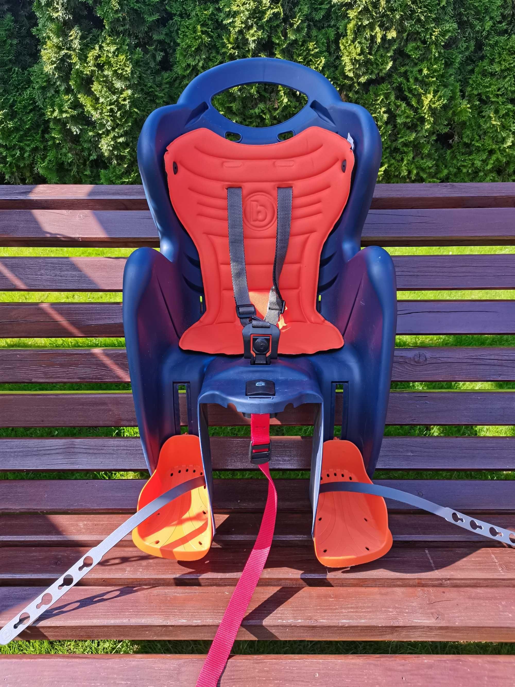 Fotelik rowerowy na bagażnik Bellelli