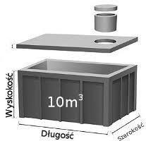 Szamba betonowe, Zbiornik betonowy,szambo na deszczówkę, Zbiorniki