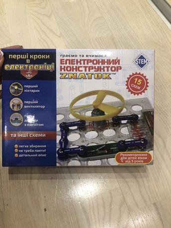 Продам конструктор электронный знаток 15 схем