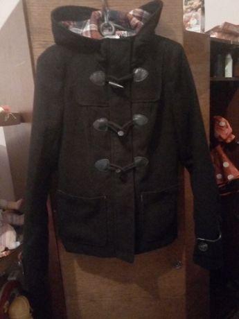 Качественное шерстяное осеннее пальто на девочку 42-44 за 100гр.