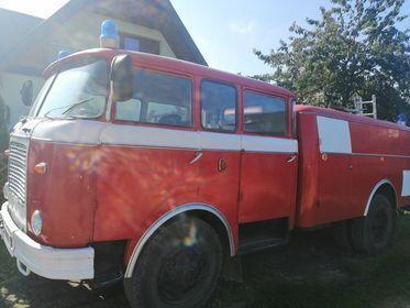 Samochód Strażacki Pożarniczy Skoda 706