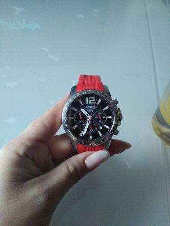 Luksusowy Zegarek męski wodoszczelny idealny na prezent LORUS czerwony