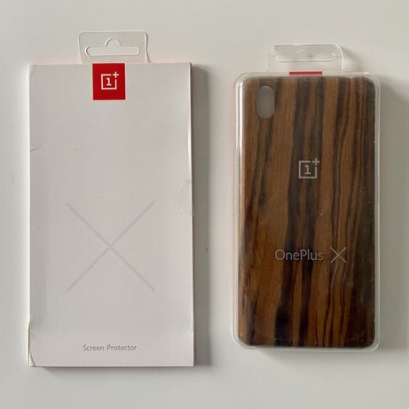 Oneplus X  case i screen protector