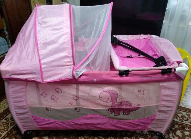 Детский манеж-кроватка Coto baby