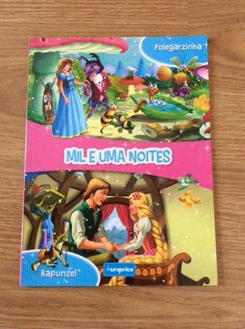 Livro - Mil e uma noites *Polegarzinha * e *Rapunzel*