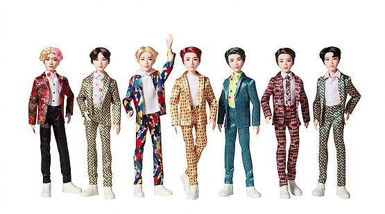 Куклы БТС BTS Idol Doll Mattel кукла Jimin RM j-Hope Jin V Jung Kook