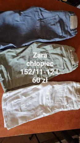 Spodenki Zara chłopiec  r.152/11-12 l.