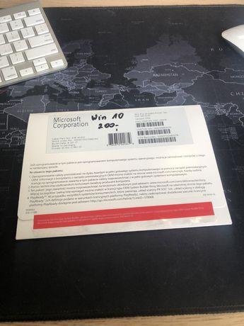 Windows 10 licencja wraz z naklejką i plytą cd