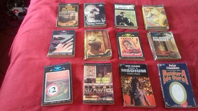 Lote Livros policiais