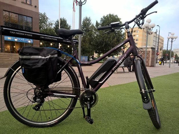 rower elektryczny hybrydowy over fly